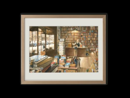 Torben Kuhlmann Mäuseabenteuer Edison Kunstdruck In der Buchhandlung